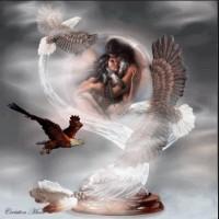Las águilas y el halcón